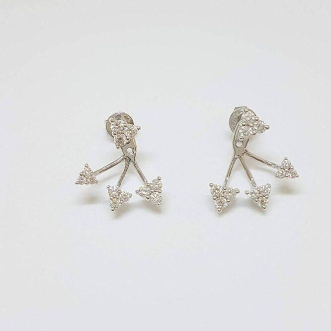 Orecchini fantasia Giorgio Visconti BBX38177 oro diamanti