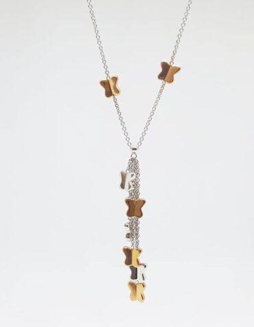 Collana Da Donna Farfalle Oro ELO0214OREF
