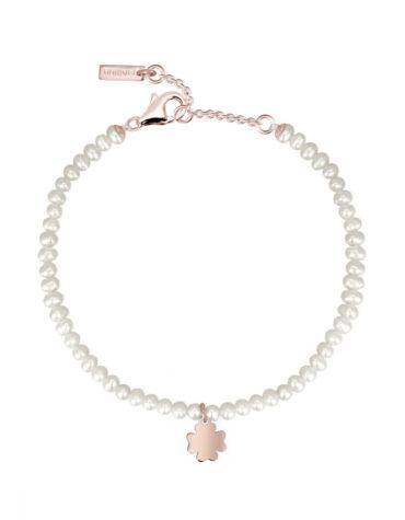 Bracciale Mabina Gioielli 533252 Perle Quadrifoglio