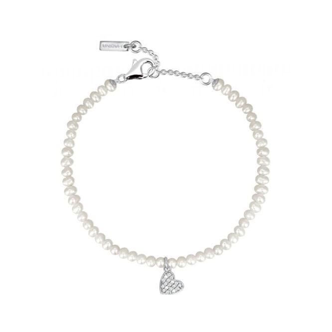 Bracciale Mabina Gioielli 533254 Perle Cuore