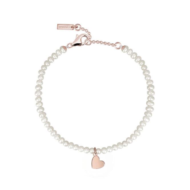 Bracciale Mabina Gioielli 533258 Perle Cuore