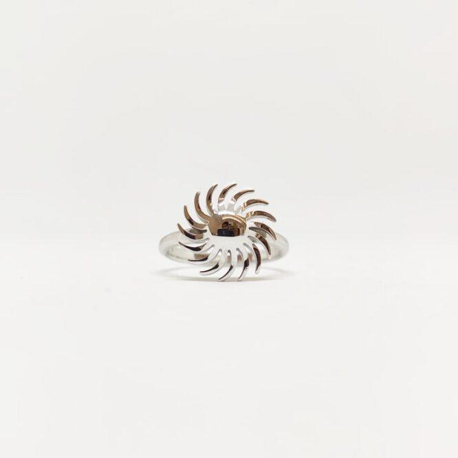 Anello Da Donna Sole Oro Bianco ELO0236OREF