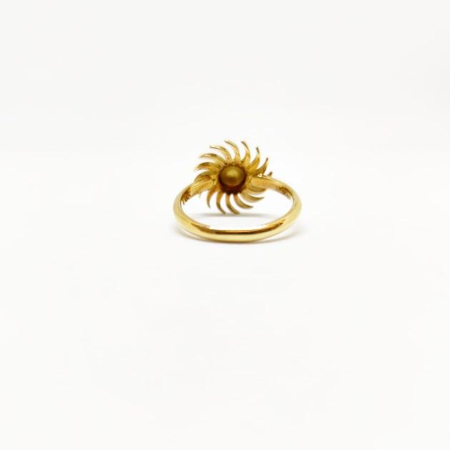 Anello Da Donna Sole Oro Giallo ELO0233OREF