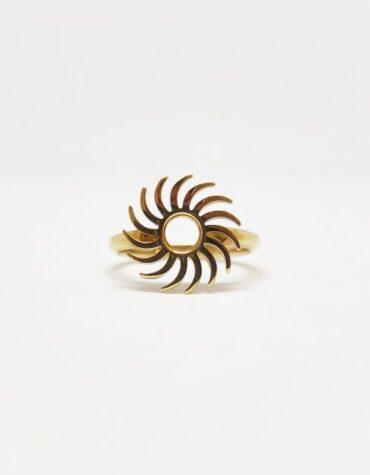 Anello Da Donna Sole Traforato Oro Giallo ELO0234OREF
