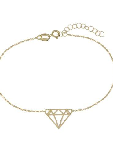 Bracciale Da Donna Diamante Oro Giallo ELO0322OREF