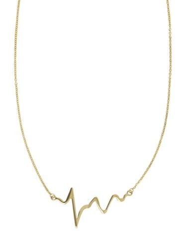 Collana Da Donna Battito Cardiaco Oro ELO0295OREF
