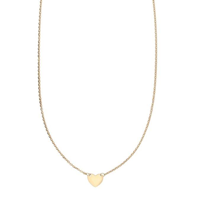 Collana Da Donna Cuore Oro Giallo ELO0309OREF