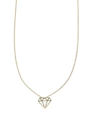 Collana Da Donna Diamante Oro Giallo ELO0321OREF