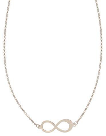 Collana Da Donna Infinito Oro Bianco ELO0320OREF