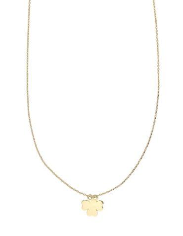 Collana Da Donna Quadrifoglio Oro Giallo ELO0316OREF