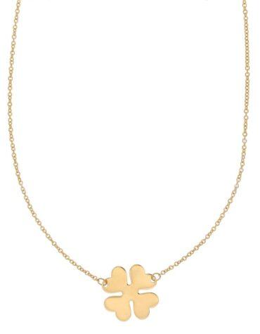 Collana Da Donna Quadrifoglio Oro Giallo ELO0317OREF