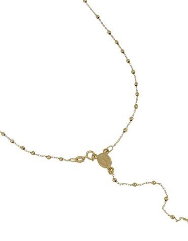 Collana Unisex Rosario Oro Giallo 50 cm ELO0274OREF