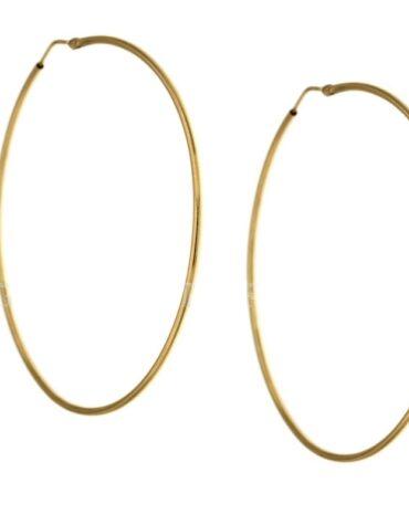 Orecchini Da Donna Cerchi Oro Giallo ELO0280OREF
