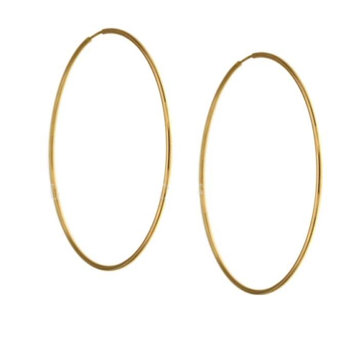 Orecchini da donna cerchi oro giallo ELO0283OREF