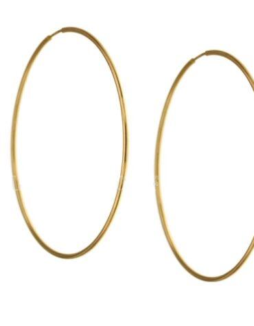 Orecchini da donna cerchi oro giallo ELO0284OREF