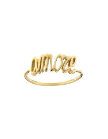 Anello Da Falange Amore Oro Giallo ELO0406OREF