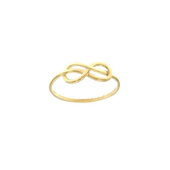 Anello Da Falange Infinito Oro Giallo ELO0398OREF
