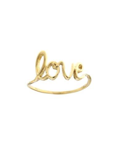 Anello Da Falange Love Oro Giallo ELO0401OREF