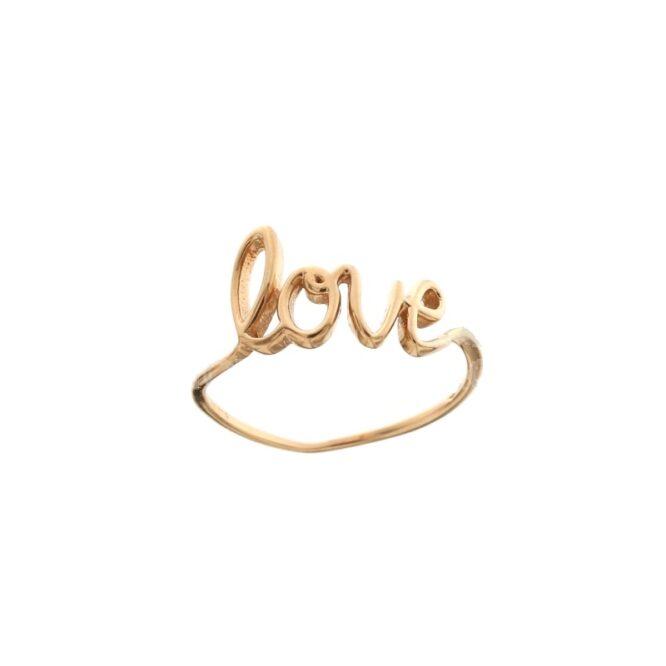 Anello Da Falange Love Oro Rosa ELO0403OREF