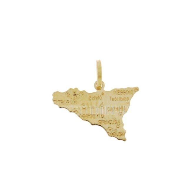 Ciondolo Sicilia Oro Gialo ELO0419OREF