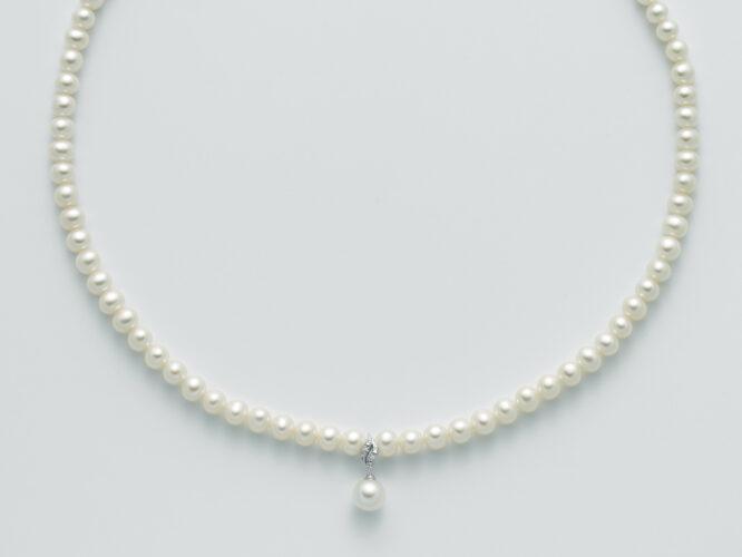 Collana Donna Miluna Perla E Diamanti PCL5527