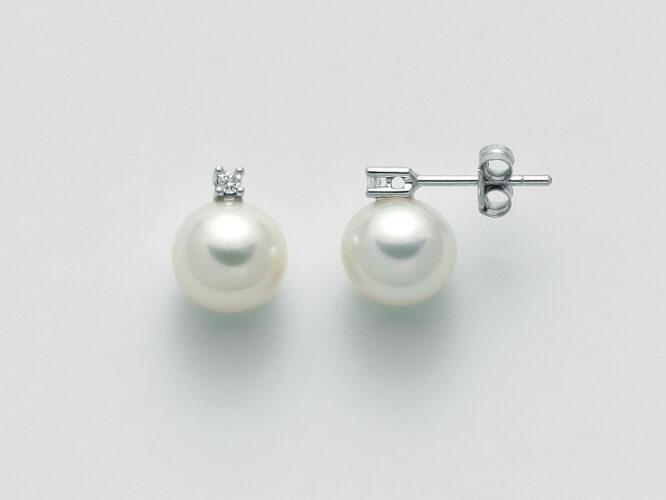 Orecchini Miluna Perle e Diamanti PER1774
