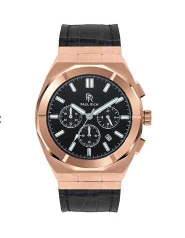 Orologio Da Polso Paul Rich Motorsport Rose Gold Leather