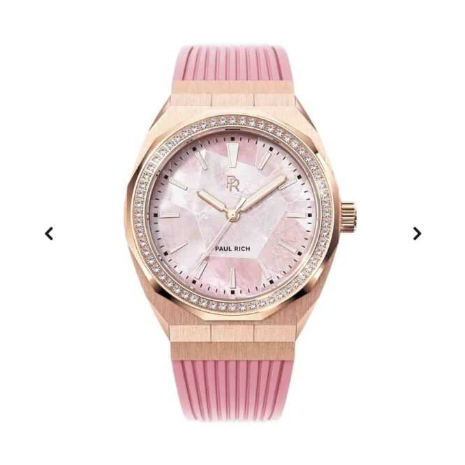 Orologio Da Polso Pul Rich Heart Of The Ocean Pink Rose