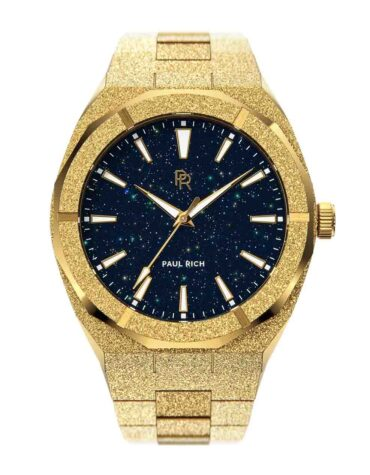 Orologio Da Polso Paul Rich Frosted Star Dust Gold
