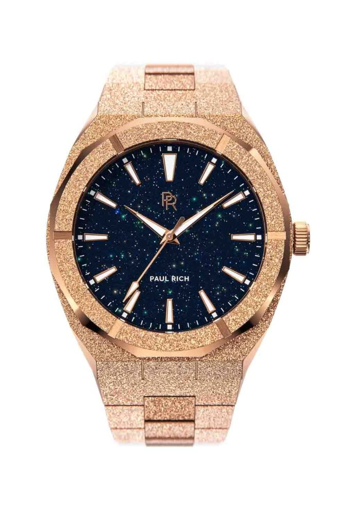 Orologio Da Polso Paul Rich Frosted Star Dust Rose Gold